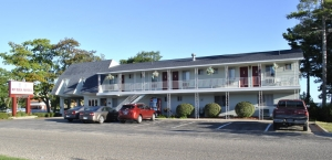 Front of Motel Daytime