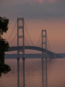 Still Water and Mackinac Bridge